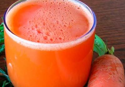 Сок свежей моркови