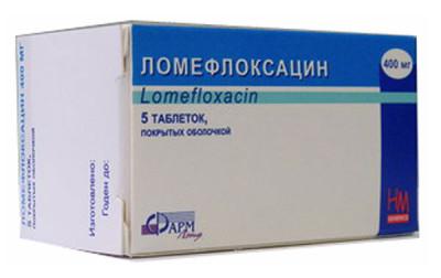 Ломефлоксацин